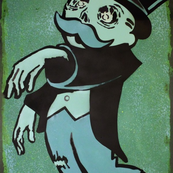 04a_-_Zombie_Monopoly_-_Stencil_and_Spraypaint_on_300gsm_Fabriano_Paper_-_61x98cm_-_Edition_of_12