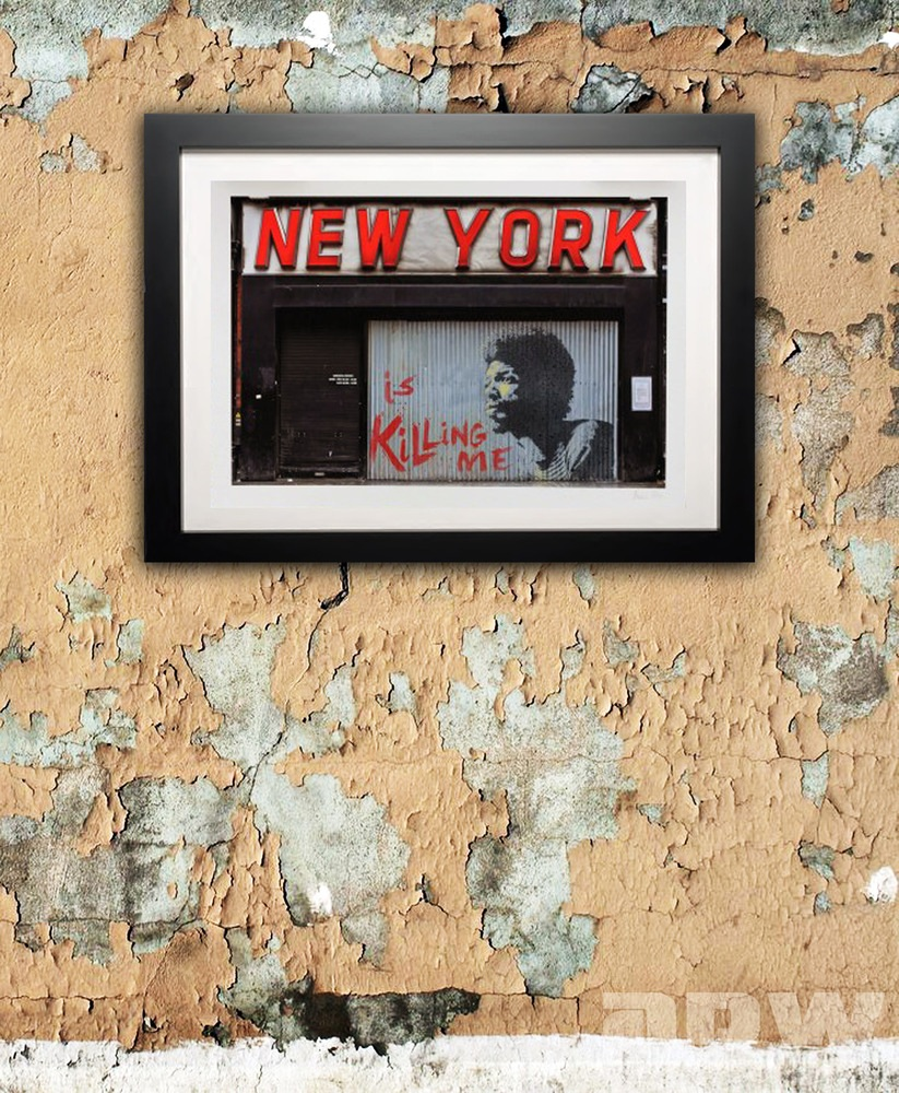 New York is Killing Me - ADW Art